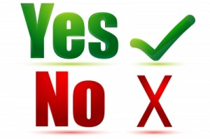 Yes No Image