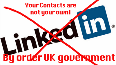 linkedin UK Government law